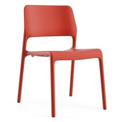 Spark Stacking Side Chair (Red) - OPEN BOX RETURN