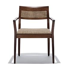 Krusin Armchair with Upholstered Back Inset  -  Authorized Retailer