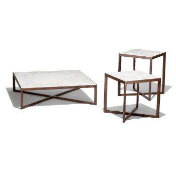 Krusin Occasional Tables (shown in Marble)