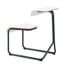 Toboggan Sled Base Chair Desk