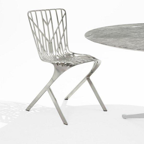 Washington Skeleton Plated Aluminum Chair