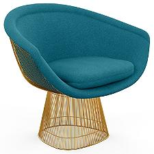 Platner Lounge Chair in Gold  -  Authorized Retailer