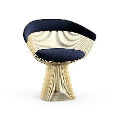 Platner Arm Chair in Gold  -  Authorized Retailer