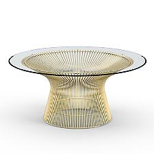 Platner 36 Inch Coffee Table in Gold  -  Authorized Retailer