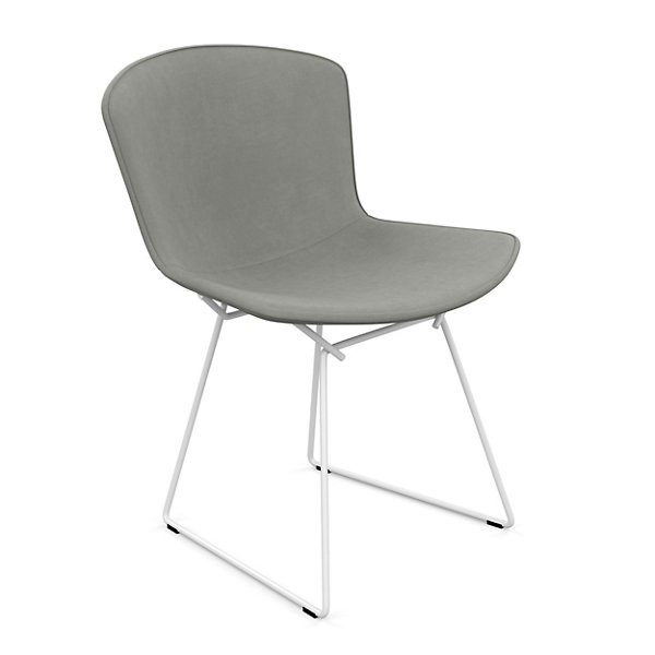 Bertoia Two-Tone Side Chair, Fully Upholstered