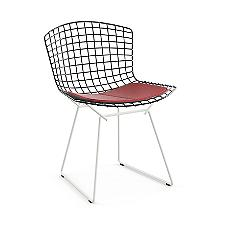 Bertoia Two-Tone Side Chair with Seat Cushion  -  Authorized Retailer