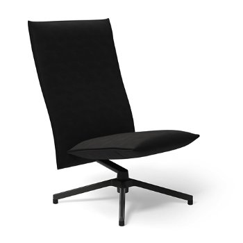 Shown in Ultrasuede Black Onyx with Dark Grey Painted Base finish