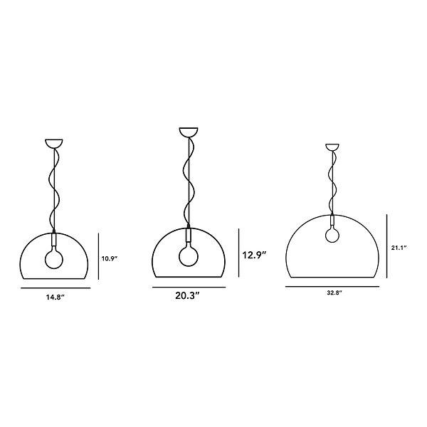 Opaque FL/Y Pendant