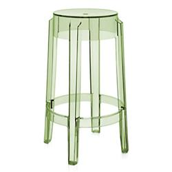 Charles Ghost Stool (Green/Counter Height) - OPEN BOX RETURN