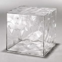 Optic Cube Storage (Crystal) - OPEN BOX RETURN
