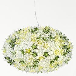 Bloom Round Pendant (Transparent Mint/Large) - OPEN BOX