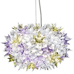 Bloom Round Pendant (Transparent Lavender/Medium) - OPEN BOX