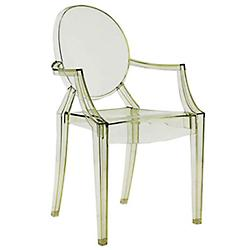 Louis Ghost Chair by Kartell (Green) - OPEN BOX RETURN