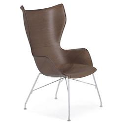 SmartWood Upholstered Lounge Chair