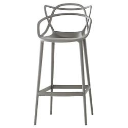 Masters Stool (Grey/Bar Height) - OPEN BOX RETURN