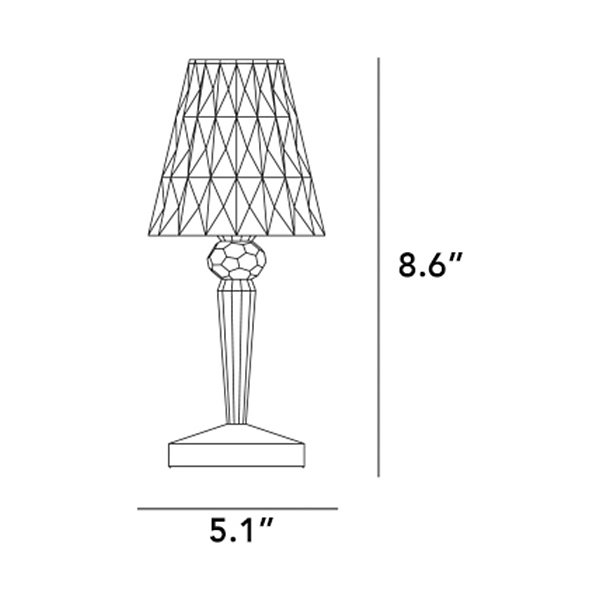 Battery Table Lamp