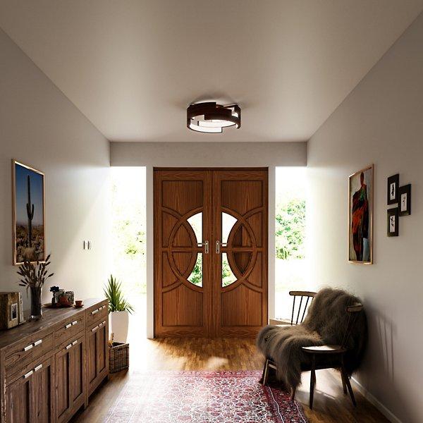 Anello LED Semi-Flushmount