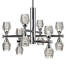 Honeycomb 3-Tier LED Chandelier