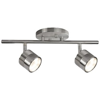 Shown in Brushed Nickel finish, 1 Light