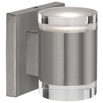 Shown in Brushed Nickel finish, Short size