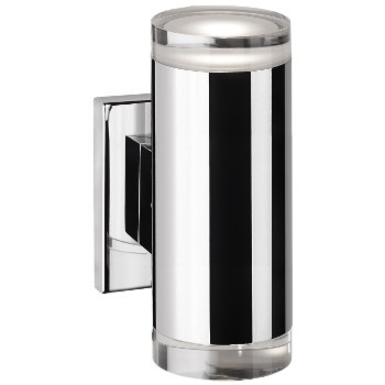 Shown in Chrome finish, Tall size