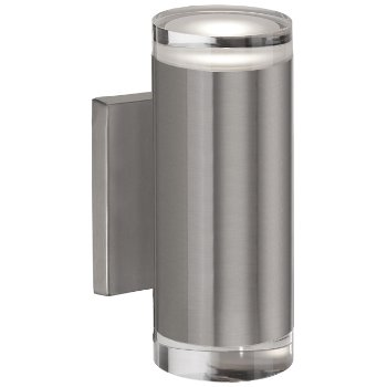 Shown in Brushed Nickel finish, Tall size