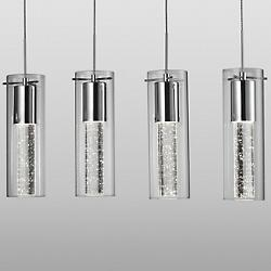 Champagne LED Linear Suspension