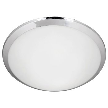 Shown in Chrome finish, 12 inch size