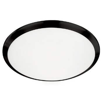 Shown in Black finish, 15 inch size