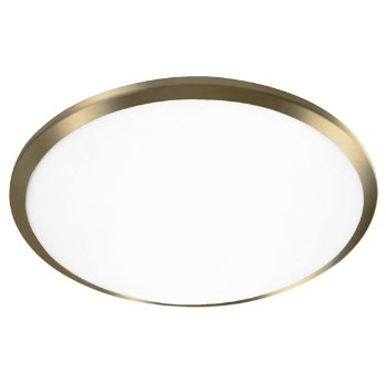 Shown in Vintage Brass finish, 12 inch size