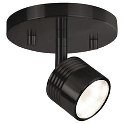 Modern LED Single Track Fixture (Bronze/1 Light) - OPEN BOX