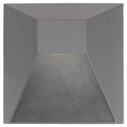 EW53908 Outdoor LED Wall Sconce (Grey) - OPEN BOX RETURN