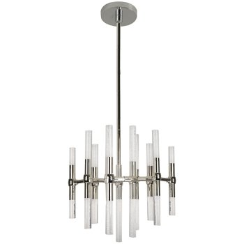 Shown in Polished Nickel finish, 13 Light