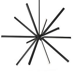 Sirius LED Chandelier (Black/Large) - OPEN BOX RETURN