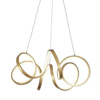 Shown in Antique Brass finish, Medium size