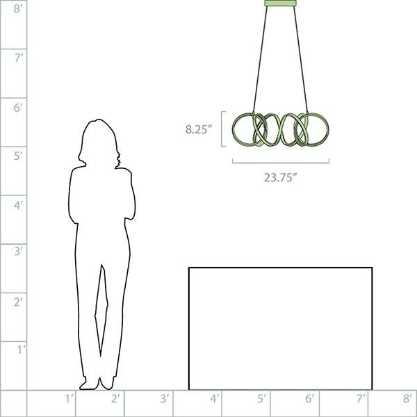 Synergy LED Chandelier