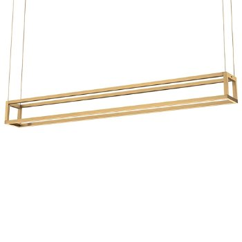 Shown in Gold finish, Medium size