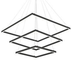 Piazza LED 3-Tier Chandelier