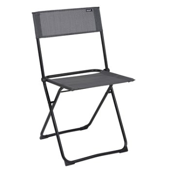 Anytime Folding Chair, Set of 2 - Black