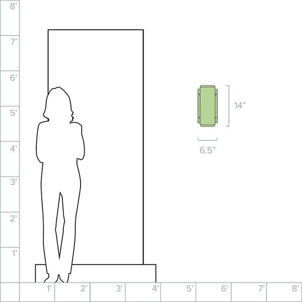 Aspenti Tall Outdoor Wall Light