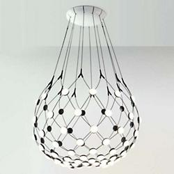Mesh LED Pendant Light (40 In/3 Feet) - OPEN BOX RETURN