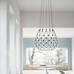 Mesh LED Pendant Light (22 Inch/3 Feet) - OPEN BOX RETURN