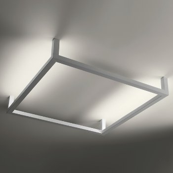 Framework Square Ceiling/Wall Light