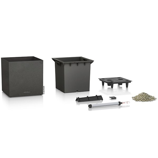 Canto Stone Cube Self-Watering Indoor/Outdoor Planter