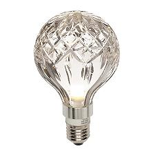 Replacement Glass for Crystal Bulb Pendant Light