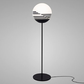 Optical Floor Lamp