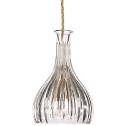 Bell Decanterlight Mini Pendant (Straight Cut) - OPEN BOX
