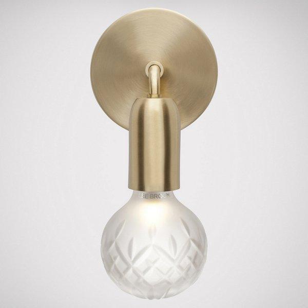 Crystal Bulb LED Wall Sconce