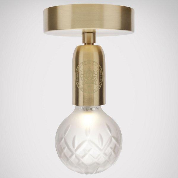Crystal Bulb LED Semi-Flushmount