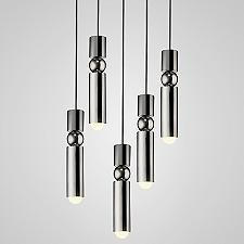Fulcrum Multi-Light Pendant(Chrome/5 Lights)-OPEN BOX RETURN